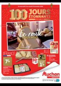 Prospectus Auchan Supermarché Saint-Germain-lès-Corbeil : C'est bientôt Noël