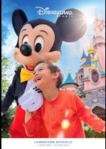 Prospectus Disneyland Paris : Catalogue Disneyland Paris
