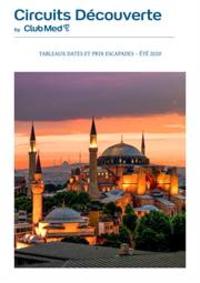Journaux et magazines CLUB MED voyage TOULOUSE : Escapades  Été 2020