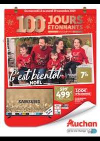Prospectus Auchan Val d'Europe Marne-la-Vallée : C'est bientôt Noël