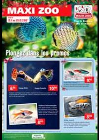 Prospectus Maxi zoo Montigny-lès-Cormeilles : Plongez dans les promos