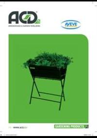 Prospectus AVEVE OVERIJSE : Garden Products