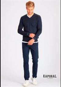 Prospectus Kaporal FRANCONVILLE : Collection Pulls / Homme