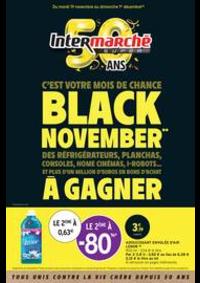 Prospectus Intermarché Super Bondy : BLACK NOVEMBER**