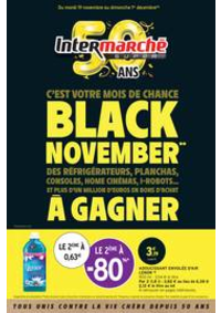 Prospectus Intermarché Super Dampierre-les-Boi : BLACK NOVEMBER**