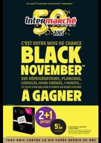 Prospectus Intermarché Hyper MORTEAU : BLACK NOVEMBER**