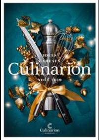 Prospectus Culinarion PARIS 6 : Noël 2019
