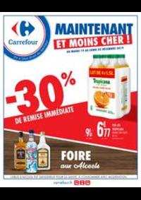 Prospectus Carrefour CHARENTON LE PONT : Foire aux alcools