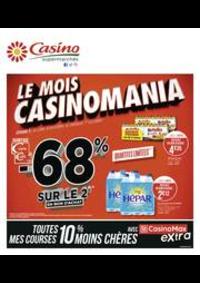 Prospectus Supermarchés Casino PANTIN : Le mois Casinomania