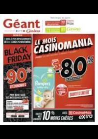 Prospectus Géant Casino CHAUMONT : Black Friday, jusqu'à -90% d'économies