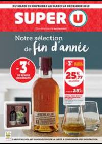 Prospectus Super U VINZIER : NOTRE SÉLECTION DE FIN D'ANNÉE_SU5