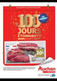Prospectus Auchan Supermarché Paris 12 Reuilly : 100 jours étonnants avant 2020