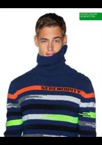 Prospectus United Colors Of Benetton PARIS 37/39 BLVD. ST. MICHEL : New Sexico / Homme