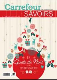 Prospectus Carrefour CHARENTON LE PONT : Magazine Savoirs Novembre Recto