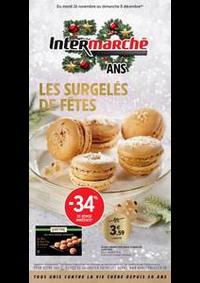 Prospectus Intermarché Super Craponne : LES SURGELÉS DE FÊTES