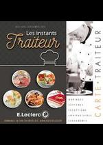 Prospectus E.Leclerc : Carte traiteur permanente-dessert