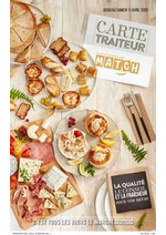Prospectus Match : Carte traiteur