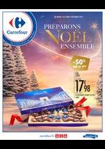 Prospectus Carrefour : Préparons Noël ensemble