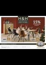 Prospectus H&H : La déco, c'est cadeau -15%