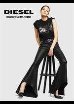 Catalogues et collections Diesel : Nouveautés Jeans  Femme