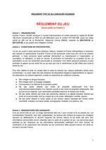 Prospectus Auchan : Rêglement Jules le castor