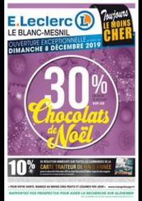 Prospectus E.Leclerc LE BLANC MESNIL : Toujours LE MOINS CHER