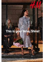 Catalogues et collections H&M : This is your time Shine!