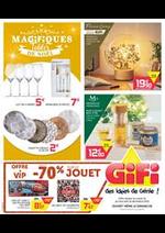 Prospectus Gifi : Les Magifiques Tables de Noël