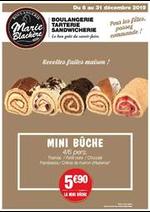 Prospectus Marie Blachère : Recettes faites maison!