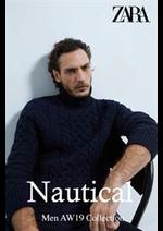 Prospectus ZARA : Nautical Men Collection