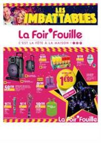 Prospectus La Foir'Fouille Gosselies City Nord : Imbattables