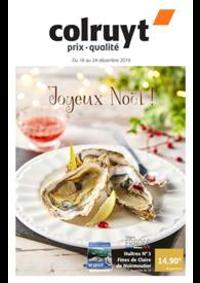 Prospectus Colruyt HANNUT : Joyeux Noel