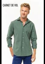 Prospectus Carnet de Vol : Chemises Casual