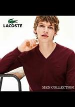 Prospectus Lacoste : Men Collection