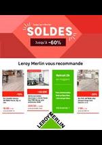Promos et remises Leroy Merlin : Soldes