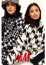 Prospectus H&M : Black and white