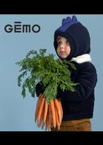 Prospectus Gemo : Nouvetés Garçon