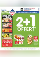 2+1 Offert - Leader Price