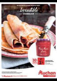 Prospectus Auchan MAUREPAS : Irrésistible Chandeleur