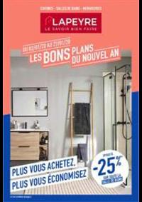 Prospectus Lapeyre Hauconcourt : Les bons plans du nouvel an