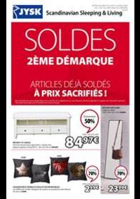 Prospectus Jysk ANDELNANS : Soldes