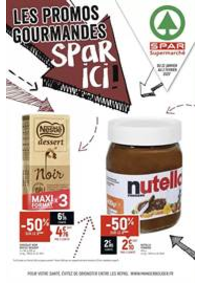 Prospectus Spar PONTARLIER : Les promos gourmandes