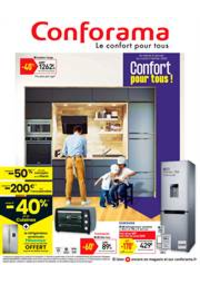 Prospectus Conforama COLOMBES : Confort pour tous