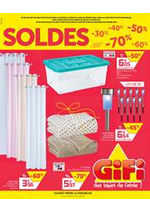 Prospectus Gifi : Soldes Gifi