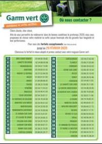 Prospectus Gamm vert BRIE COMTE ROBERT : Catalogue Gamm vert