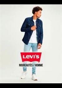 Prospectus Levi's Brussels : Nouveautés / Homme