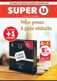 Prospectus Super U LE HAVRE - VERLAINE : VOTRE PAUSE A PRIX REDUITS