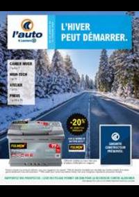Prospectus L'auto E.Leclerc BOIS D'ARCY : L'hiver peut démarrer.