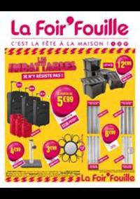 Promos et remises La Foir'Fouille Gosselies City Nord : Catalogue