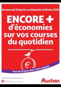 Prospectus Auchan Plaisir : Des économies au quotidien